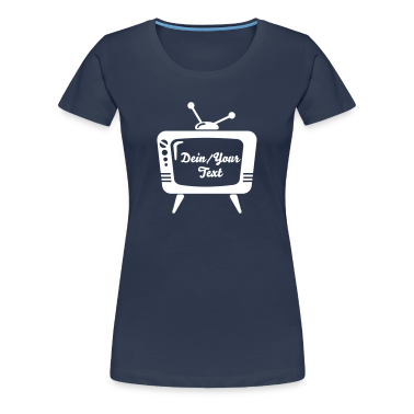 TV - Your Text - telly T-Shirts