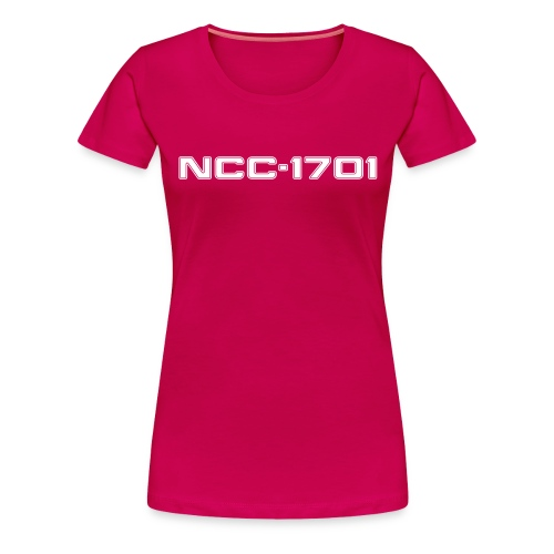 NCC-1701 Women's Plus Size Shirt - Women's Premium T-Shirt