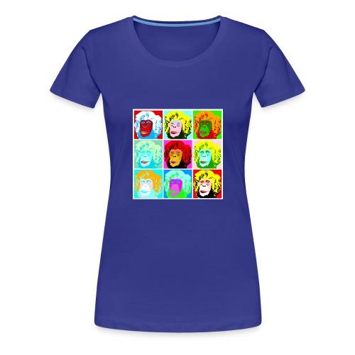 groovin' monkeys - Frauen Premium T-Shirt