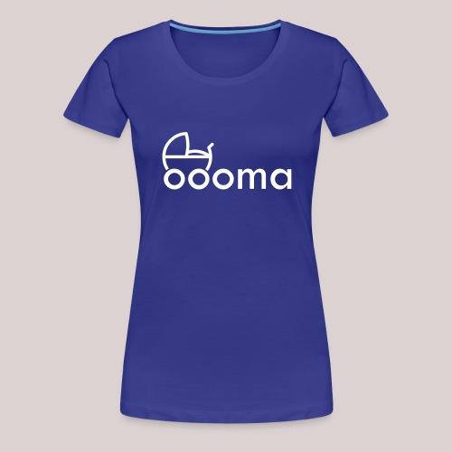 Für die liebe Oma : Kinderwagen : Enkel : Enkelin - Frauen Premium T-Shirt