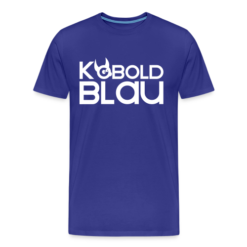 KoboldBLAU Male - Männer Premium T-Shirt