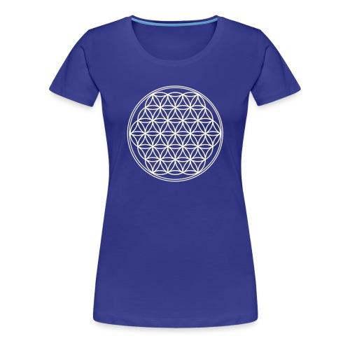 Blume des Lebens Woman  - Frauen Premium T-Shirt