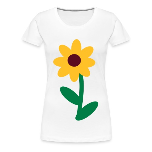 Flower Power - Frauen Premium T-Shirt