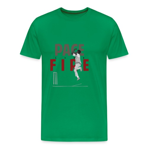 classic_Holding Pace Like Fire_g - Men's Premium T-Shirt