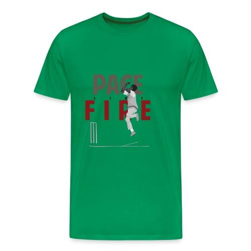 classic_Holding Pace Like Fire_g - Men's Premium T-Shirt