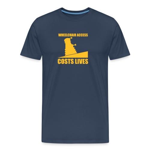Accessibility (fat) - Men's Premium T-Shirt