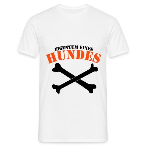 I love dogs - Männer T-Shirt