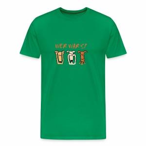 Wer war's? - Männer Premium T-Shirt
