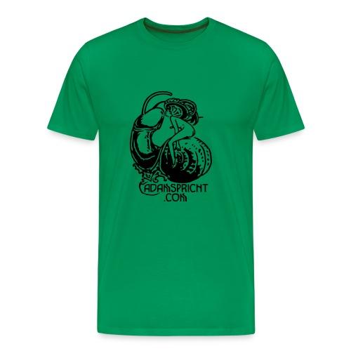 T-Shirt Adam grün - Männer Premium T-Shirt