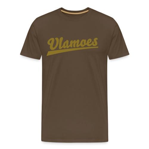Front & Back - Mannen Premium T-shirt