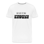 T-Shirts ~ Men's Premium T-Shirt ~ Hurricane Bawbag Symbols