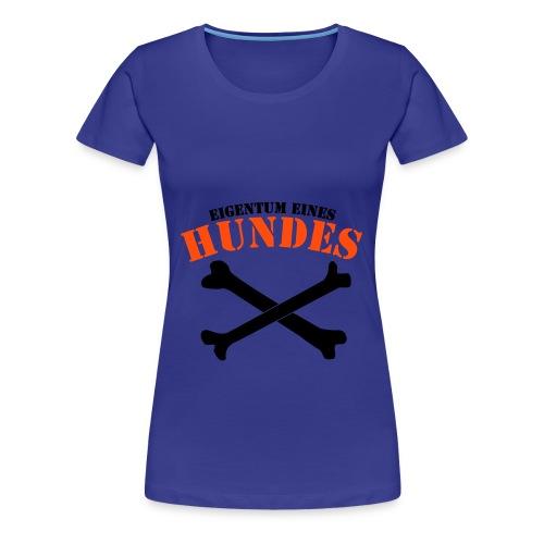 Eigentumsfrage geklärt - Frauen Premium T-Shirt
