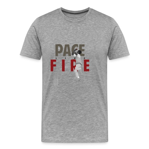 classic_Holding Pace Like Fire_w - Men's Premium T-Shirt