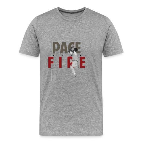 classic_Holding Pace Like Fire_w - Men's Premium T-Shirt