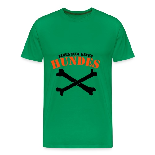 I love dogs - Männer Premium T-Shirt