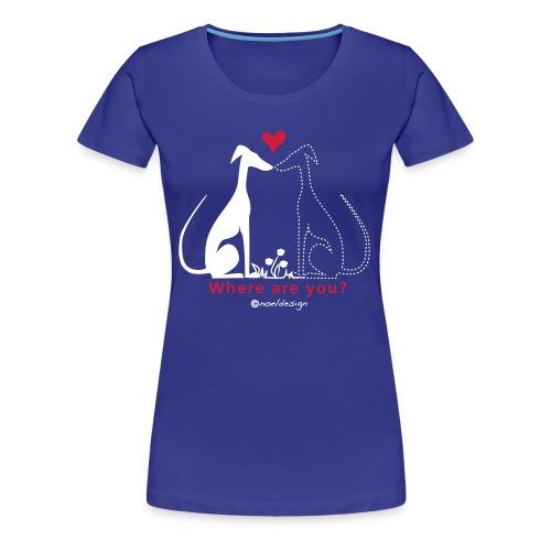Where R U? - Frauen Premium T-Shirt