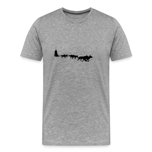 Schlittenhunde - Männer Premium T-Shirt