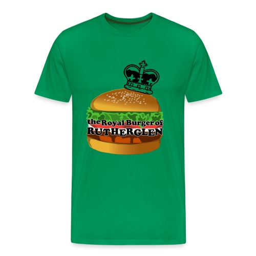 Royal Burger of Rutherglen - Men's Premium T-Shirt