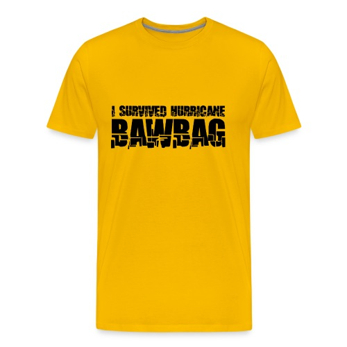 I Survived Hurricane BawBag - Men's Premium T-Shirt