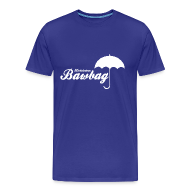 T-Shirts ~ Men's Premium T-Shirt ~ Hurricane Bawbag Brolly