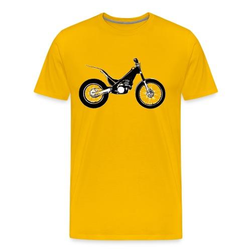 Trial Motorrad - Männer Premium T-Shirt