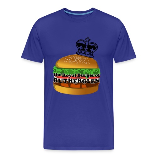 Royal Burger of Rutherglen - Men's Premium T-Shirt