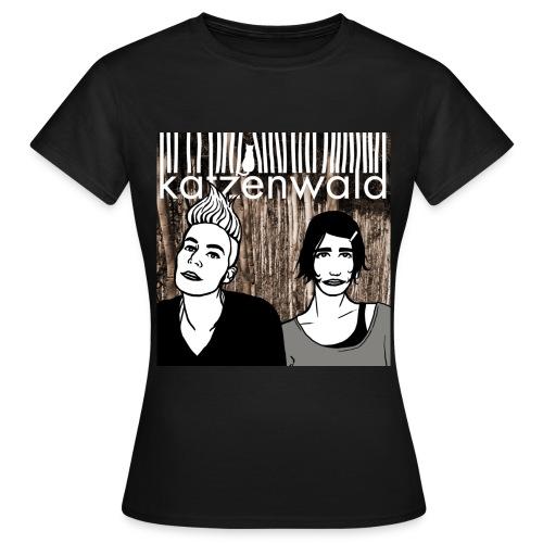 Katzenwald 1 - Frauen T-Shirt