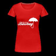 T-Shirts ~ Women's Premium T-Shirt ~ Hurricane Bawbag Brolly