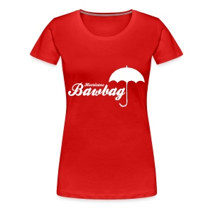 Hurricane Bawbag Brolly - Women's Premium T-Shirt