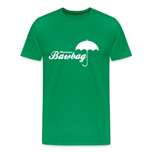 Hurricane Bawbag Brolly - Men's Premium T-Shirt