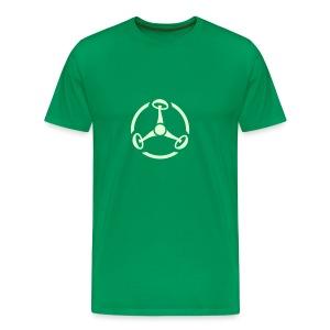 ShroomHazard (Glow in the dark) - T-Shirt - Männer Premium T-Shirt