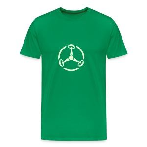 ShroomHazard (Glow in the dark) - T-Shirt - Männer Premium T-Shirt