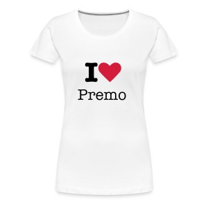 'I love Premo' Girls Tee - Women's Premium T-Shirt