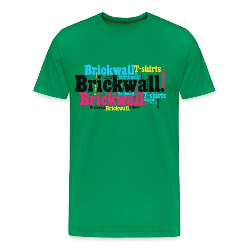 Brickwall. colors - Maglietta Premium da uomo