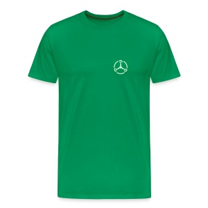 ShroomHazard small (Glow in the dark) - T-Shirt - Männer Premium T-Shirt