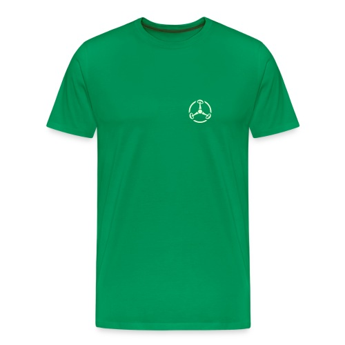 ShroomHazard small (Glow in the dark) - T-Shirt - Männer Premium T-Shirt