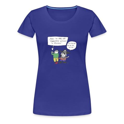 Rævkroktrøya, jente - Premium T-skjorte for kvinner