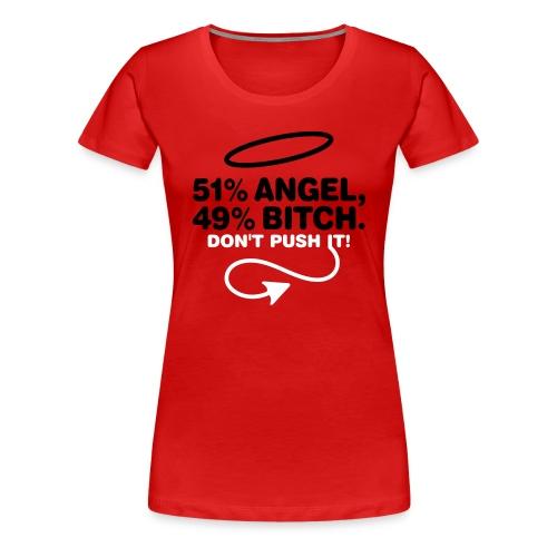 Angel/Bitch woman - Maglietta Premium da donna