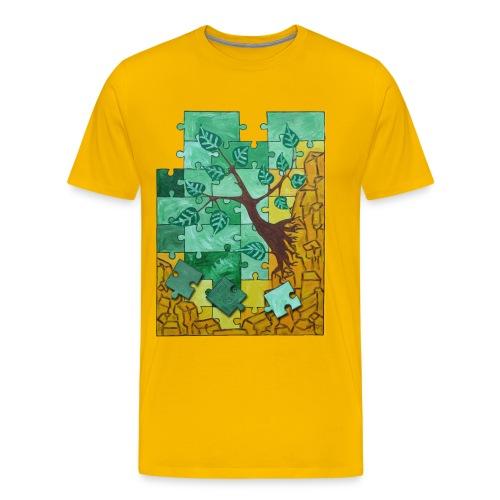 Erde & Holz Men - Männer Premium T-Shirt