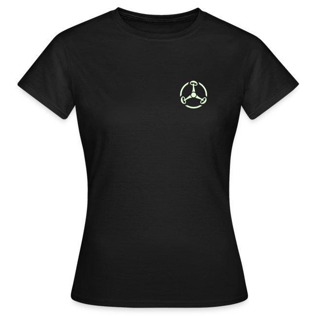 ShroomHazard small (Glow in the dark) - T-Shirt