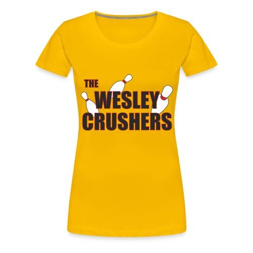 The Wesley Crushers - Women's Premium T-Shirt