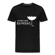 T-Shirts ~ Men's Premium T-Shirt ~ Hurricane Bawbag Brolly Up