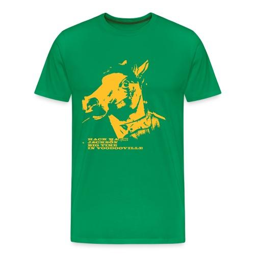 Hack Mack Jackson - Big time in Voodooville - Männer Premium T-Shirt