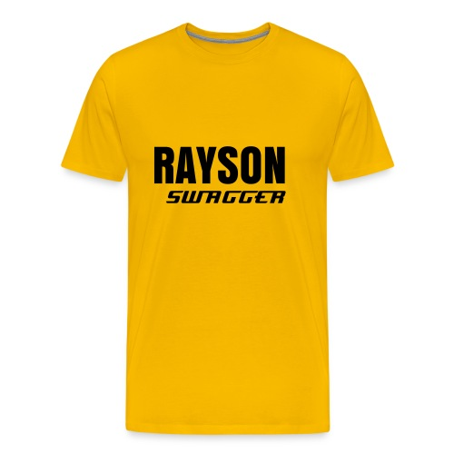 Rayson Swagger - Yellow Tee - Mannen Premium T-shirt