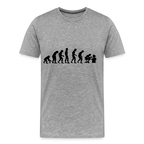 EVOLUTION SHIRT (MEN'S) - Men's Premium T-Shirt