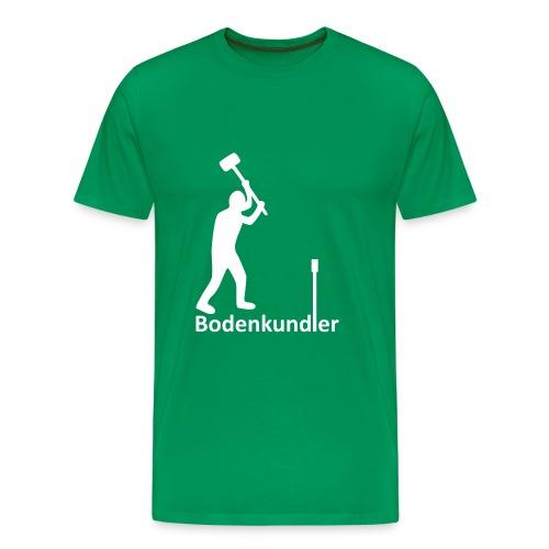 T-Shirt Bodenkundler, Pürckhauer, front, white - Männer Premium T-Shirt
