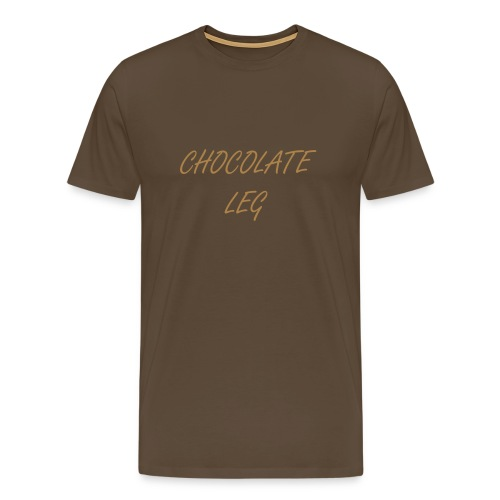 CHOCOLATE LEG (RVP) - Men's Premium T-Shirt