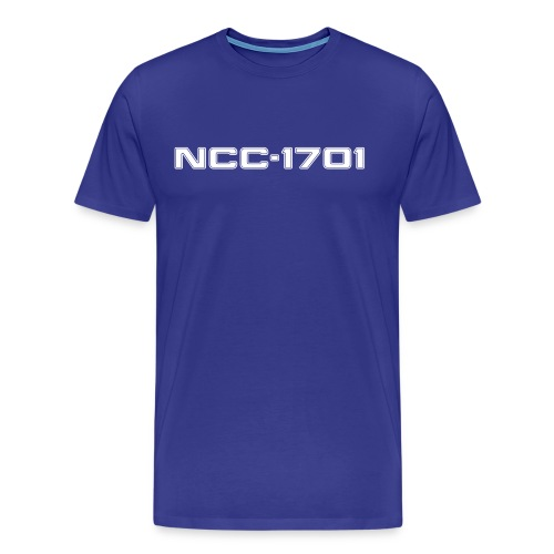 NCC-1701 Men's Classic T-Shirt - Men's Premium T-Shirt