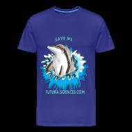 Tee shirts ~ T-shirt Premium Homme ~ Save dauphin homme bleu marine