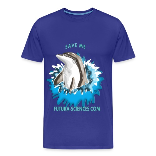 Save dauphin homme bleu marine  - T-shirt Premium Homme